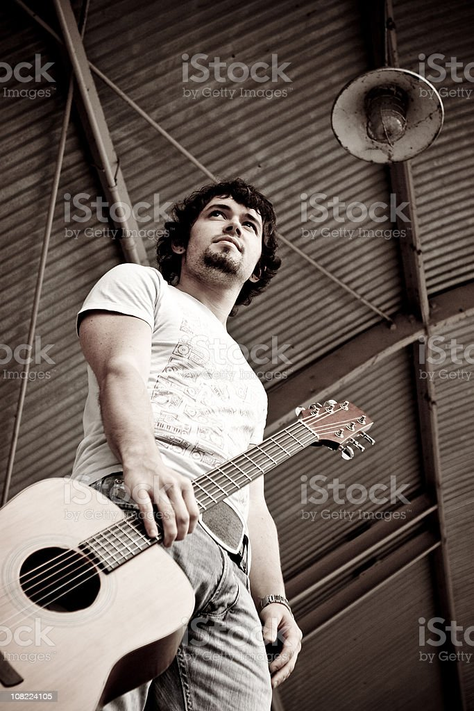 Musician stock photo