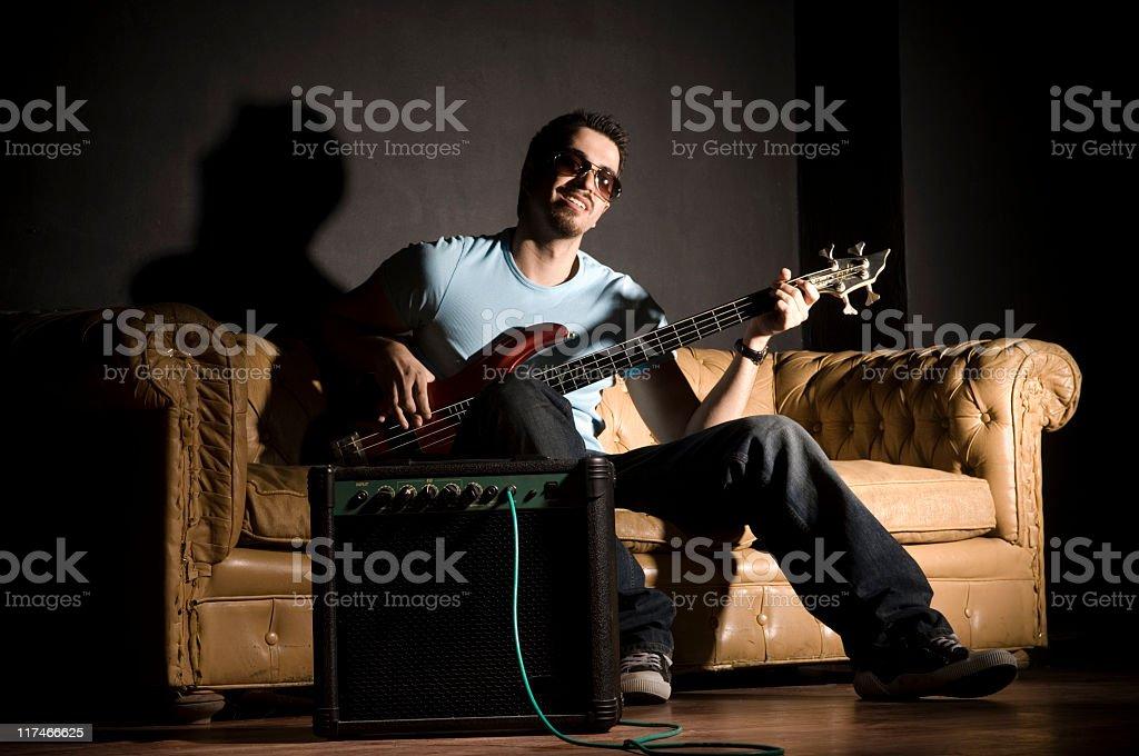 Musician stock photo