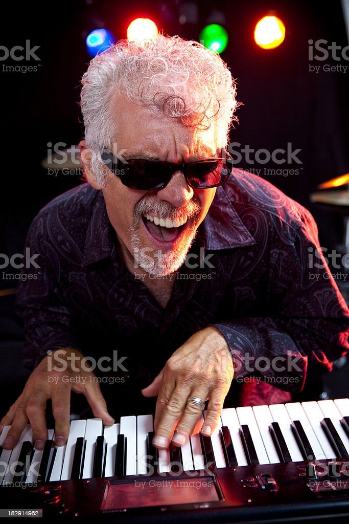 Musician royalty-free stock photo