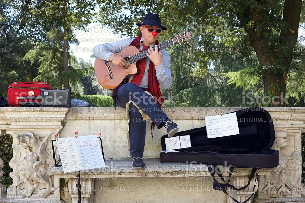 Musician. stock photo