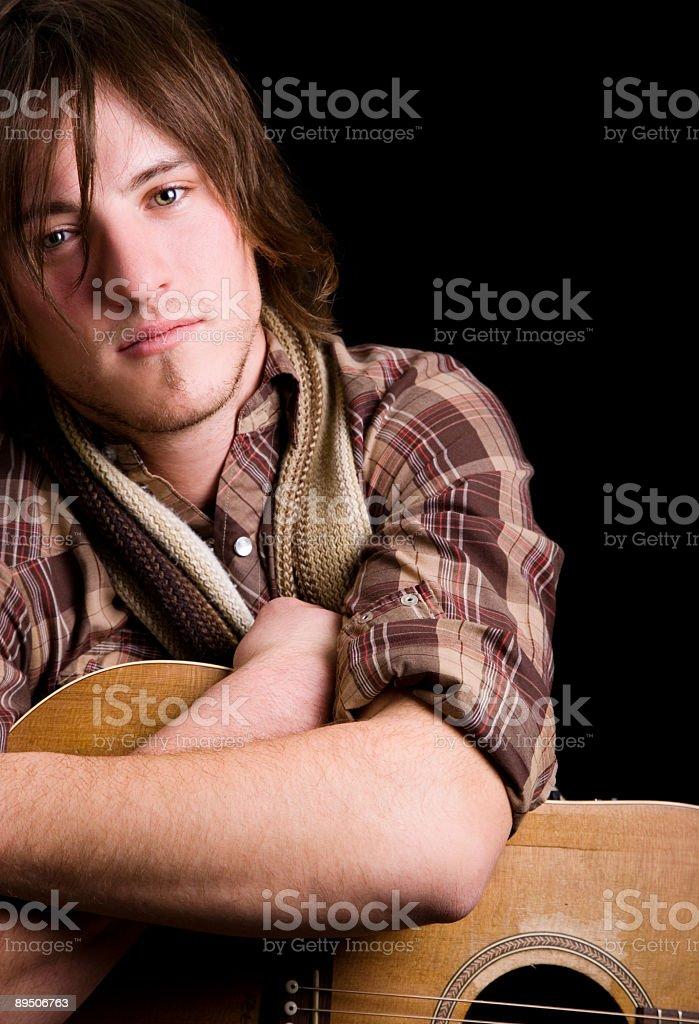 Musician Portrait royalty-free stock photo