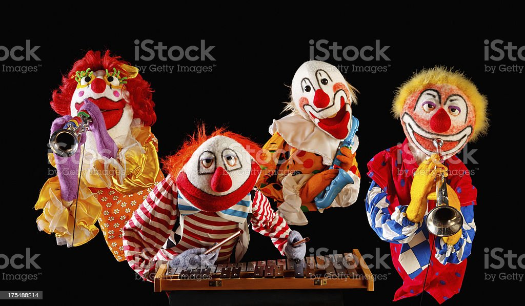 Musician Puppets stock photo