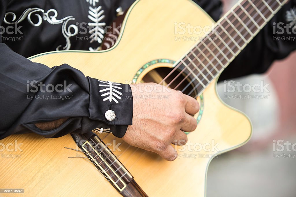 musicians on the streets stock photo