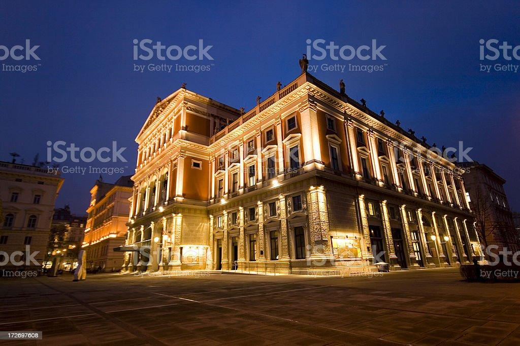 Musikverein royalty-free stock photo