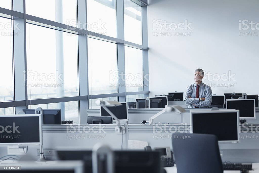 Musings of success stock photo