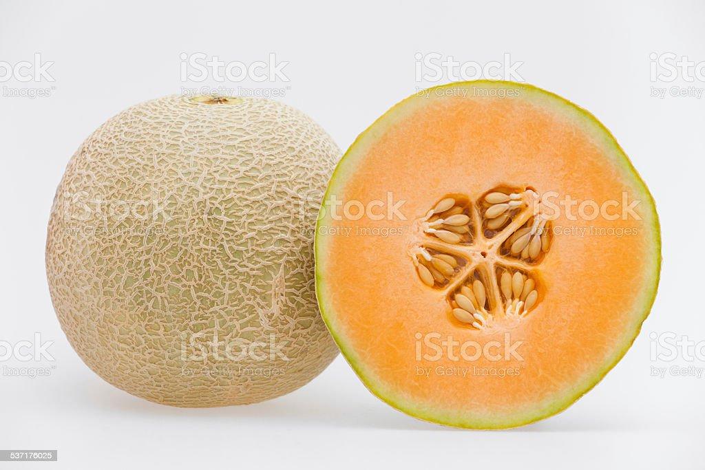Musk melon stock photo