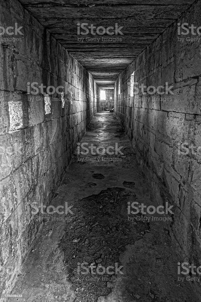 Musket Corridor stock photo