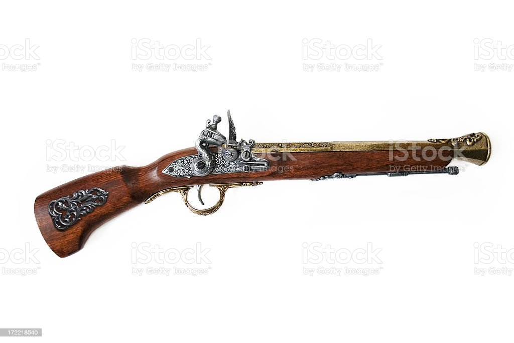 Musket royalty-free stock photo