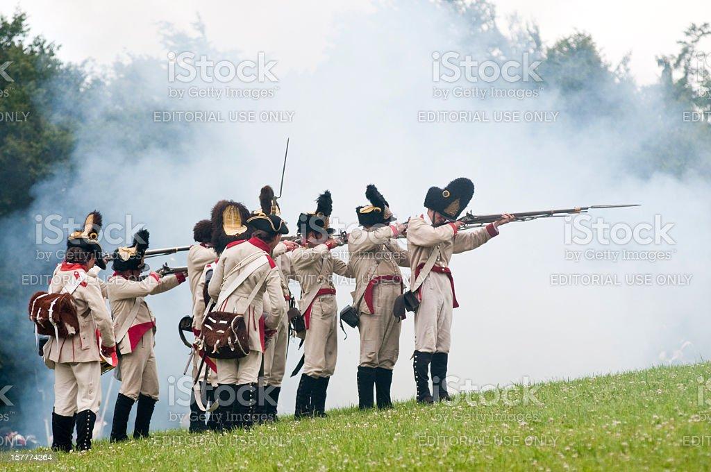 Musketeers stock photo