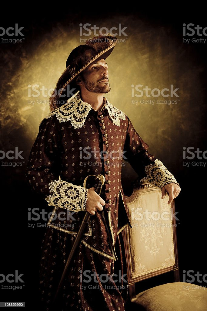 Musketeer's pride stock photo