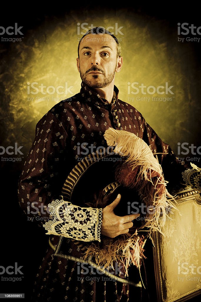 Musketeer's pride royalty-free stock photo