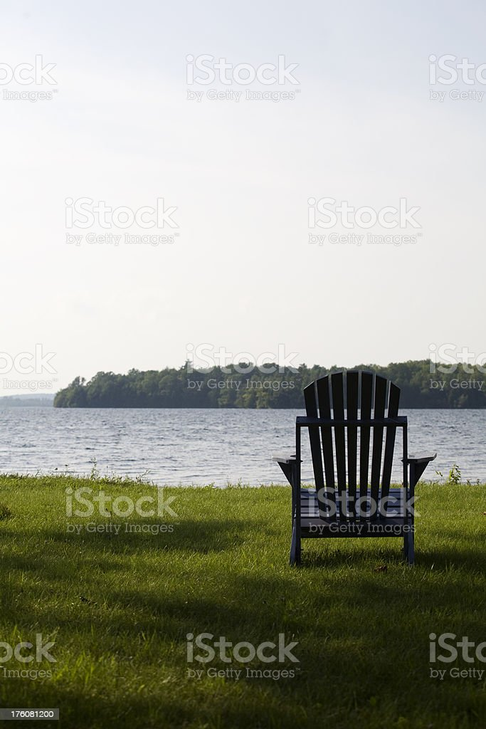 Muskoka Chair  III royalty-free stock photo