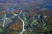 Muskoka golf course Autumn