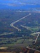 Muskoka Highway, aerial