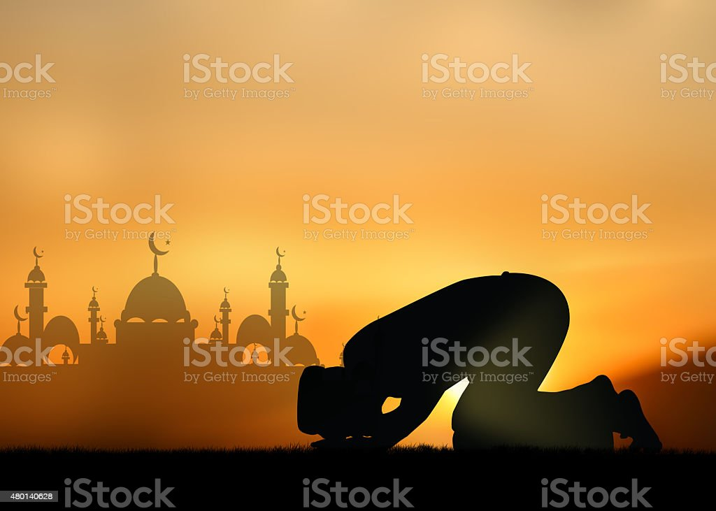 muslim boy stock photo