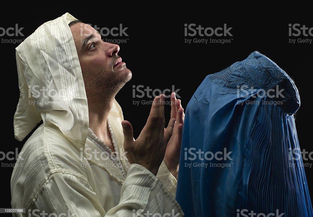 Muslim couple royalty-free stock photo