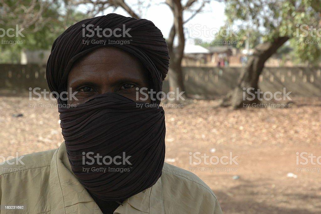 Muslim Eyes stock photo