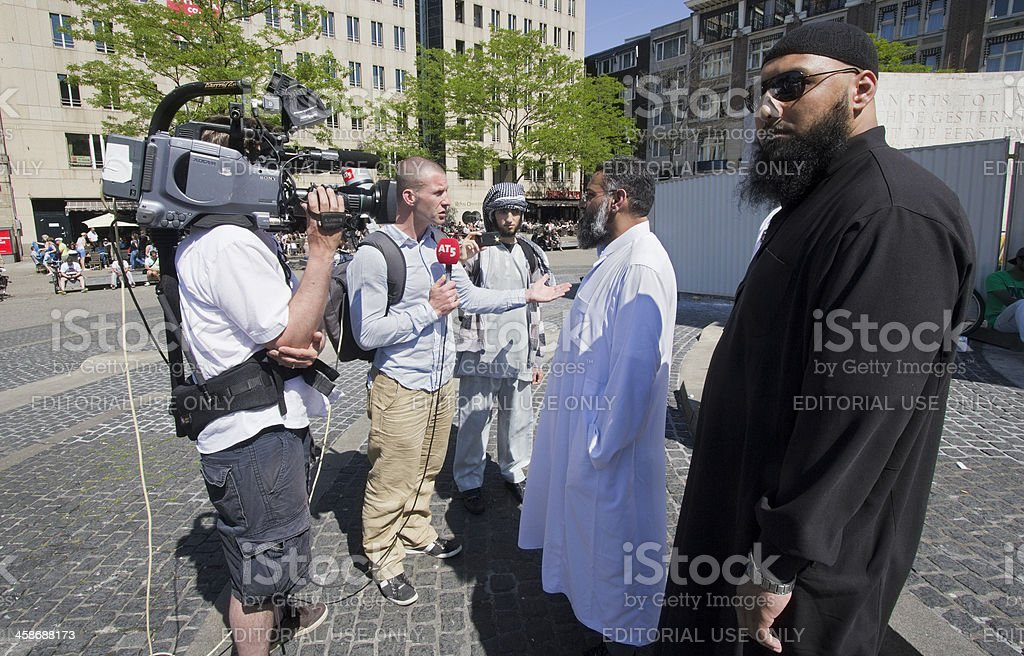 Muslim Fundamentalists stock photo