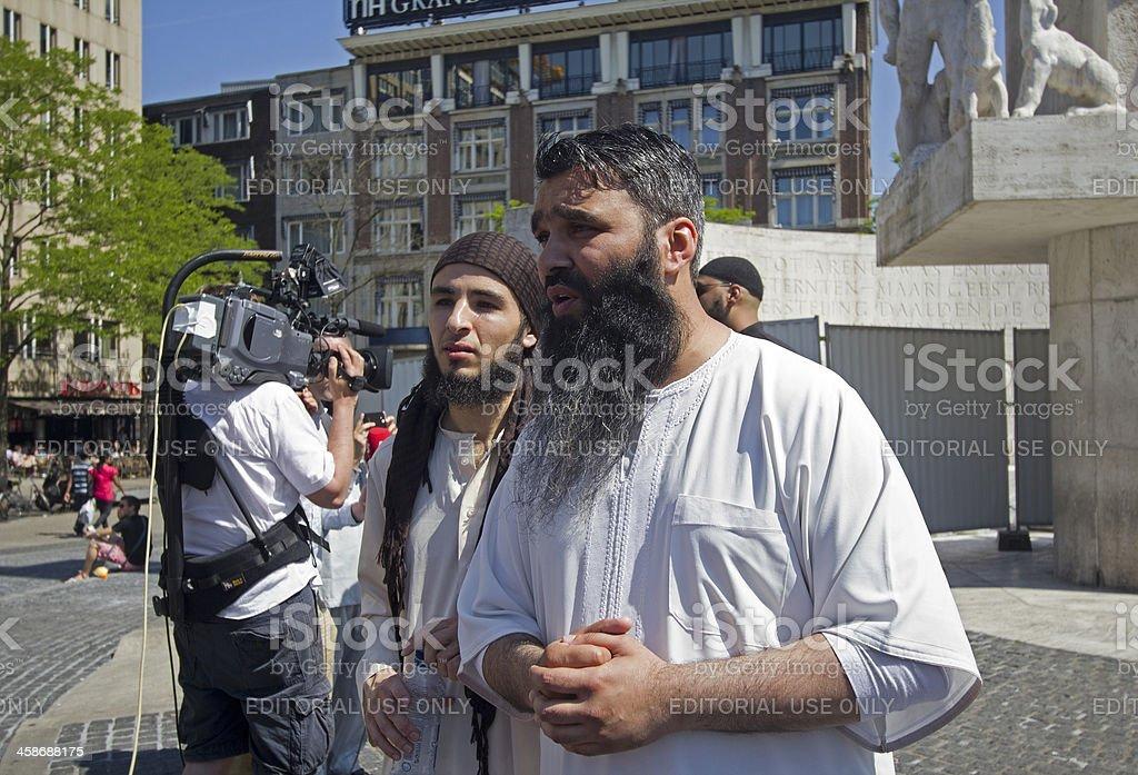 Muslim Fundamentalists stock photo