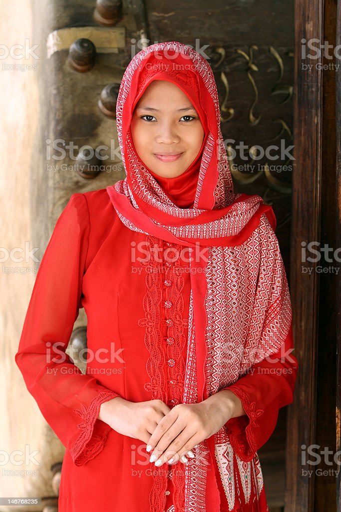 Muslim Girl royalty-free stock photo