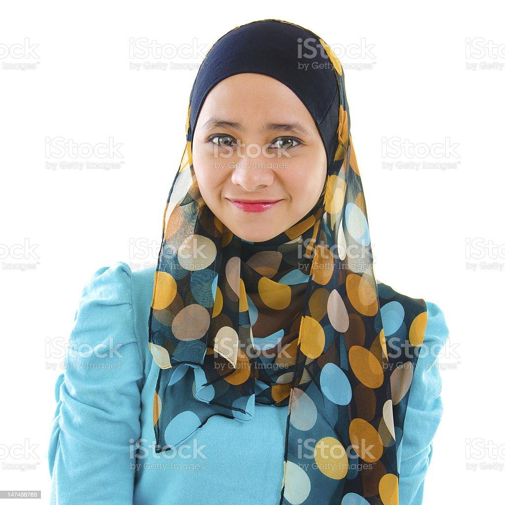 Muslim girl royalty-free stock photo