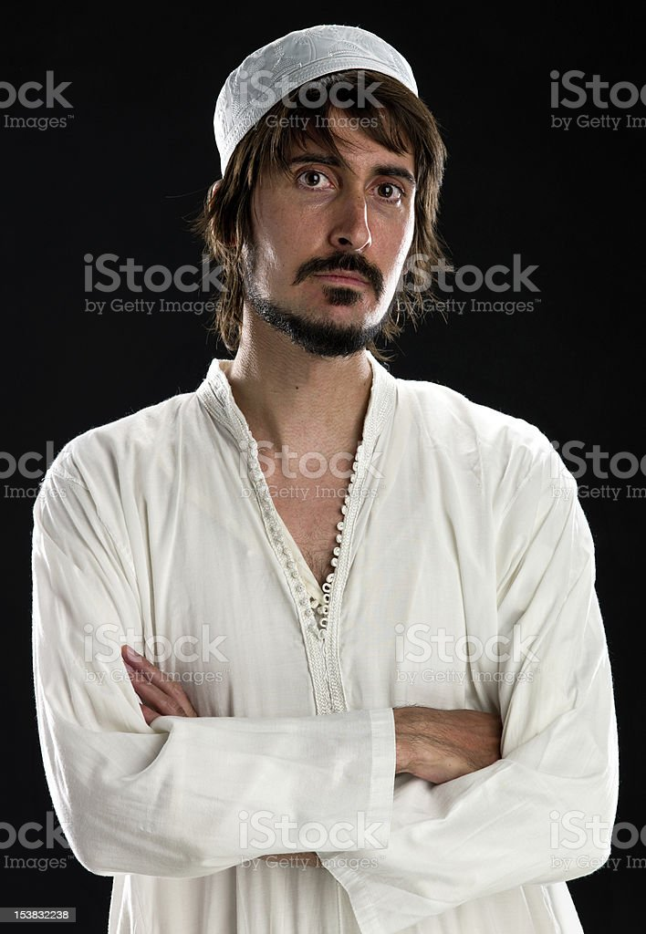 Muslim Man stock photo