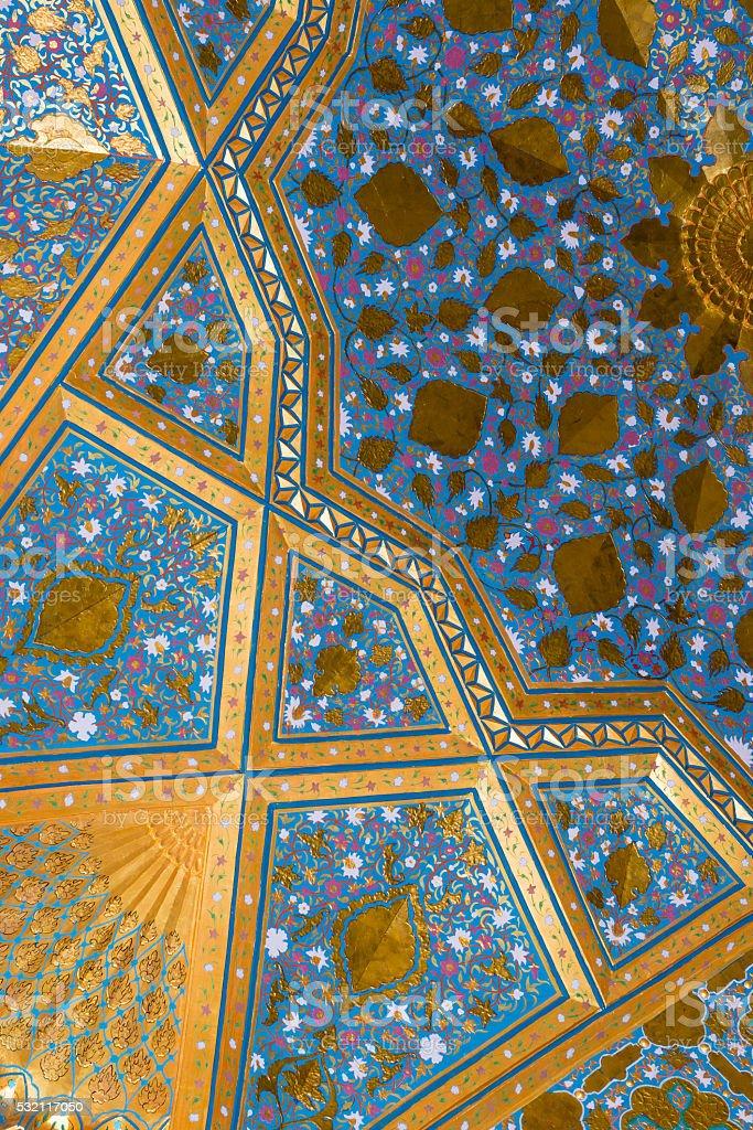 Muslim ornament stock photo