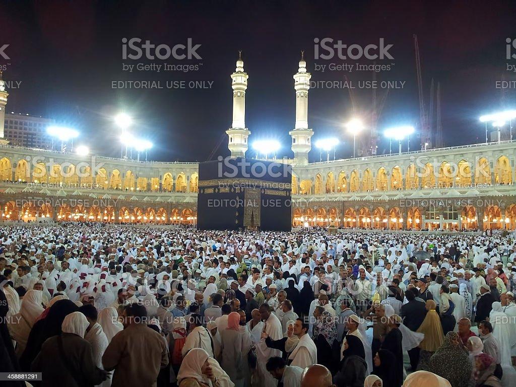 Muslim pray stock photo