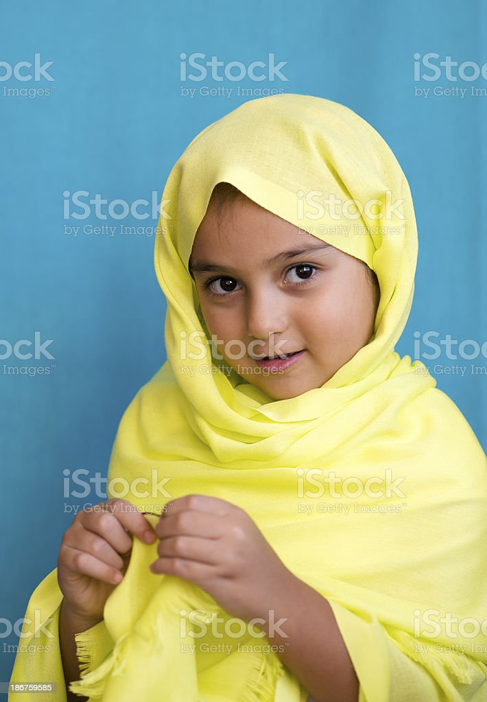 Muslim Turkish Girl royalty-free stock photo