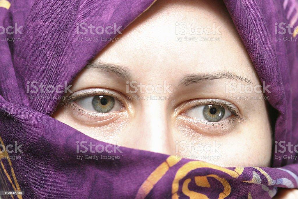 Muslim woman royalty-free stock photo