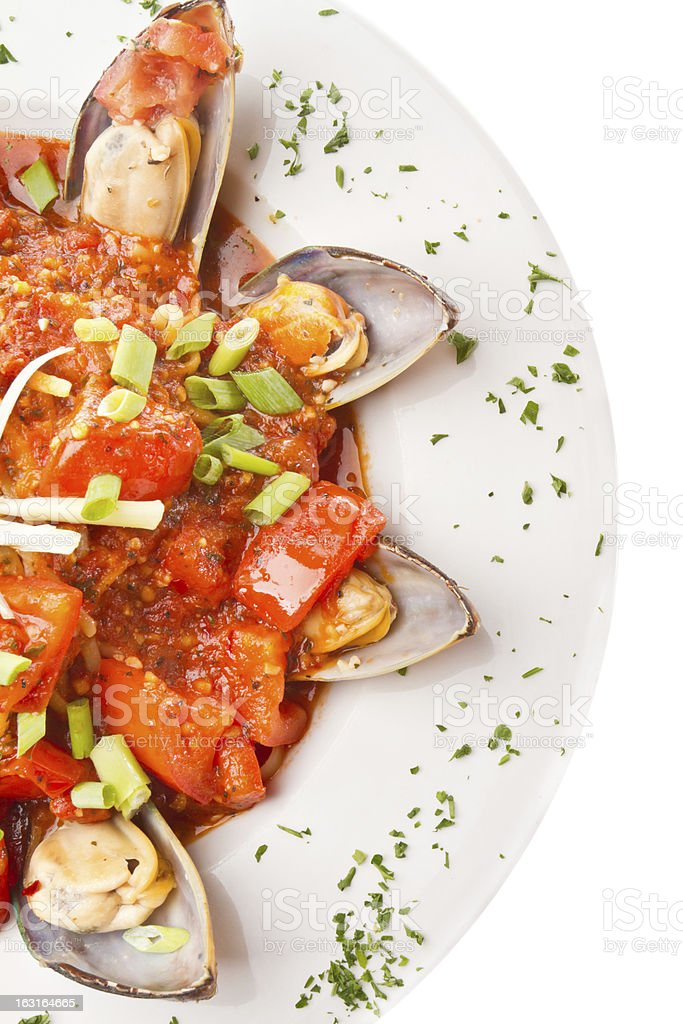 Mussels Fra Daviolo royalty-free stock photo