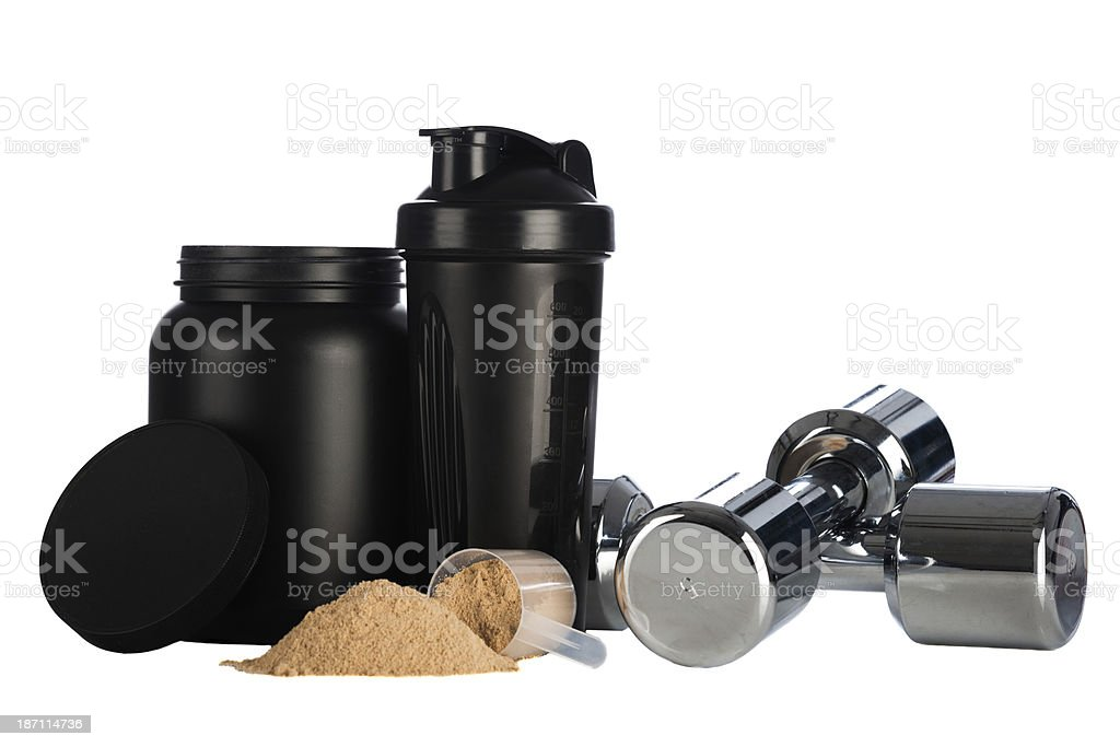 Must have gym items royalty-free stock photo