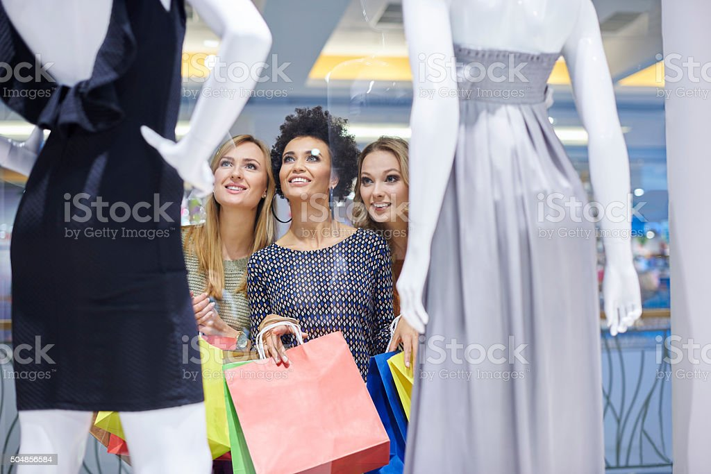 I must have this dress! stock photo