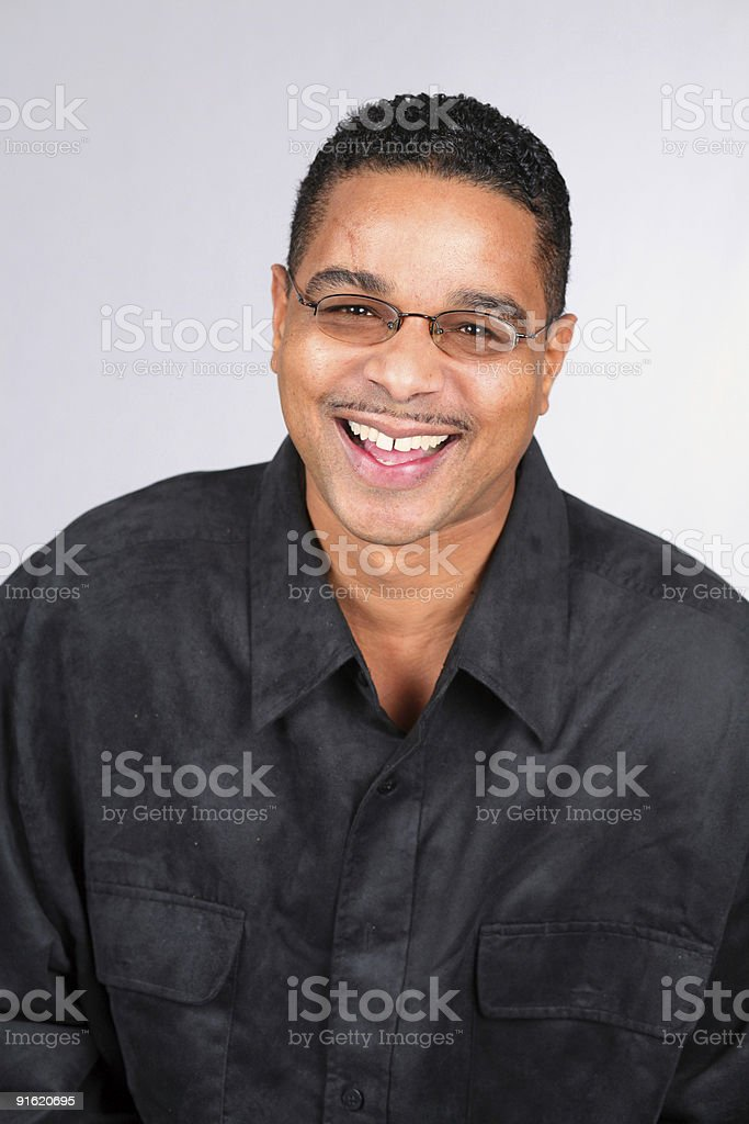 Mustache and Glasses royalty-free stock photo