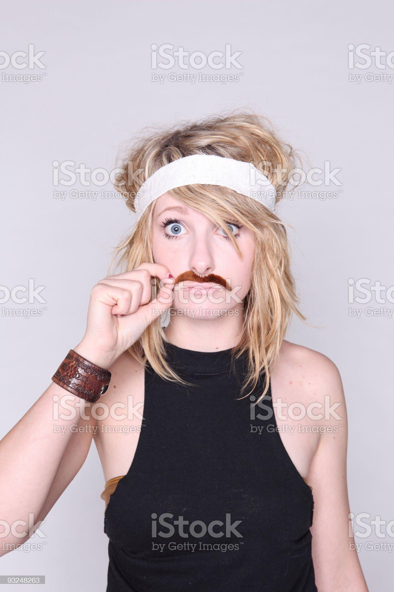 Mustache! royalty-free stock photo