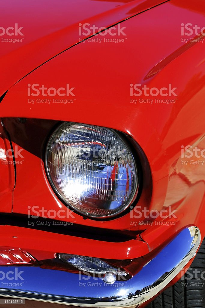 Mustang Detail 3 stock photo
