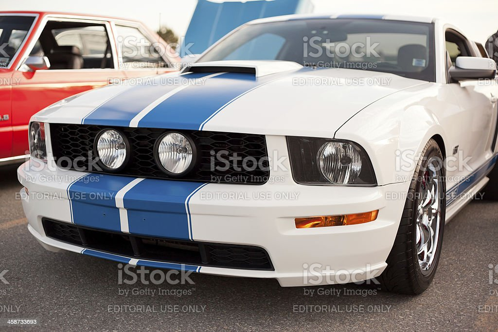 Mustang GT stock photo