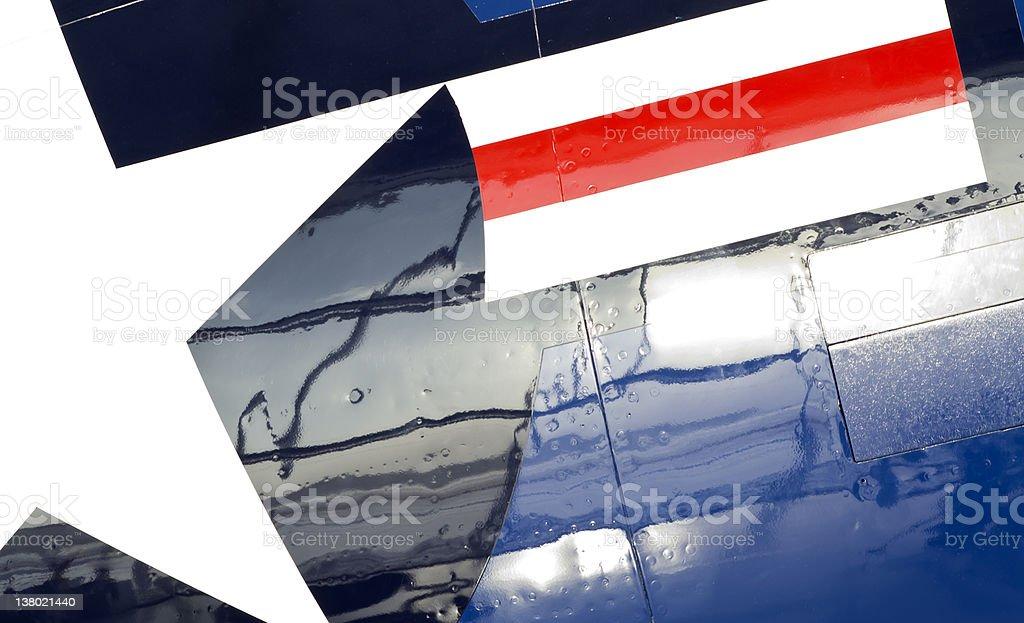 P-51 Mustang Logo stock photo