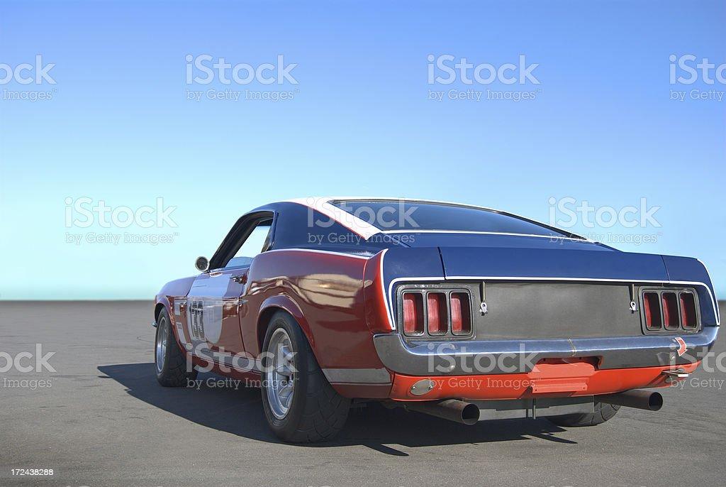 Mustang Power stock photo