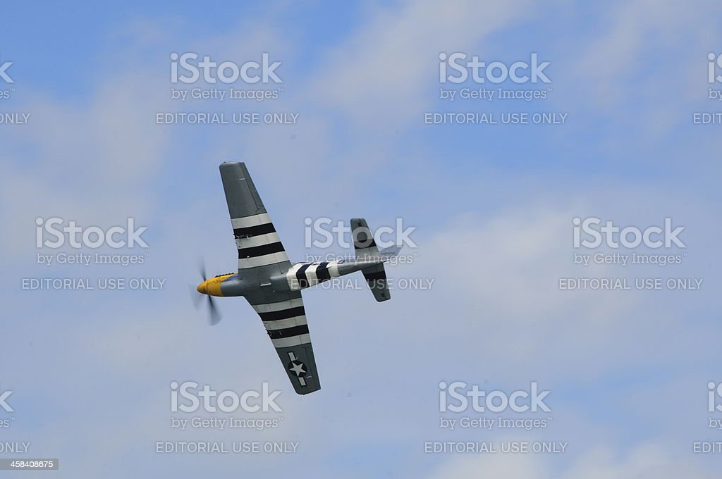 P-51D Mustang, U.K. stock photo