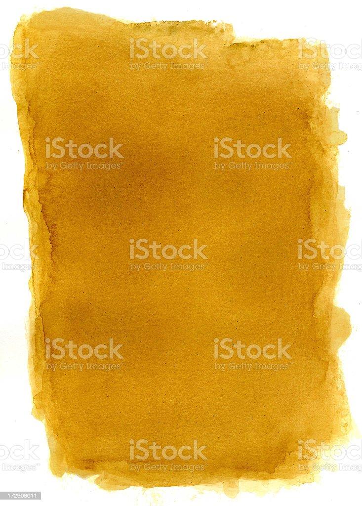 Mustard Frame Vol I royalty-free stock photo