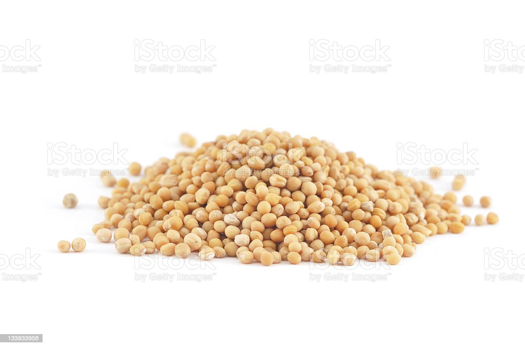 Mustard Seed Pile royalty-free stock photo