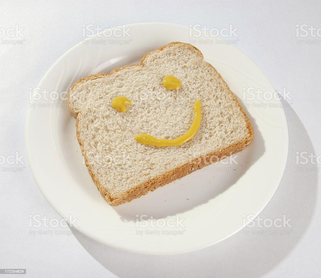 mustard smile royalty-free stock photo