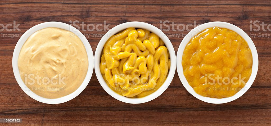 Mustard spreads royalty-free stock photo