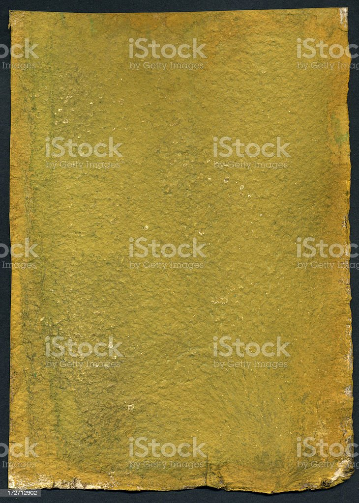 Mustard Wall royalty-free stock photo