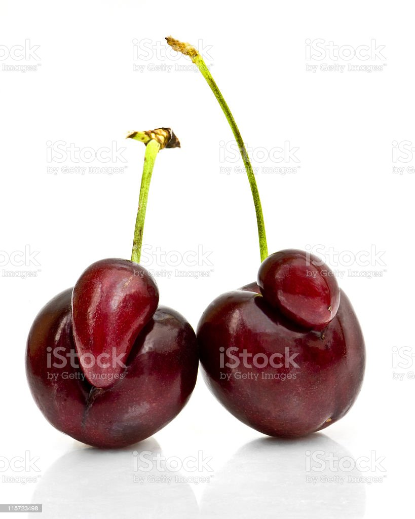 Mutant Cherries stock photo