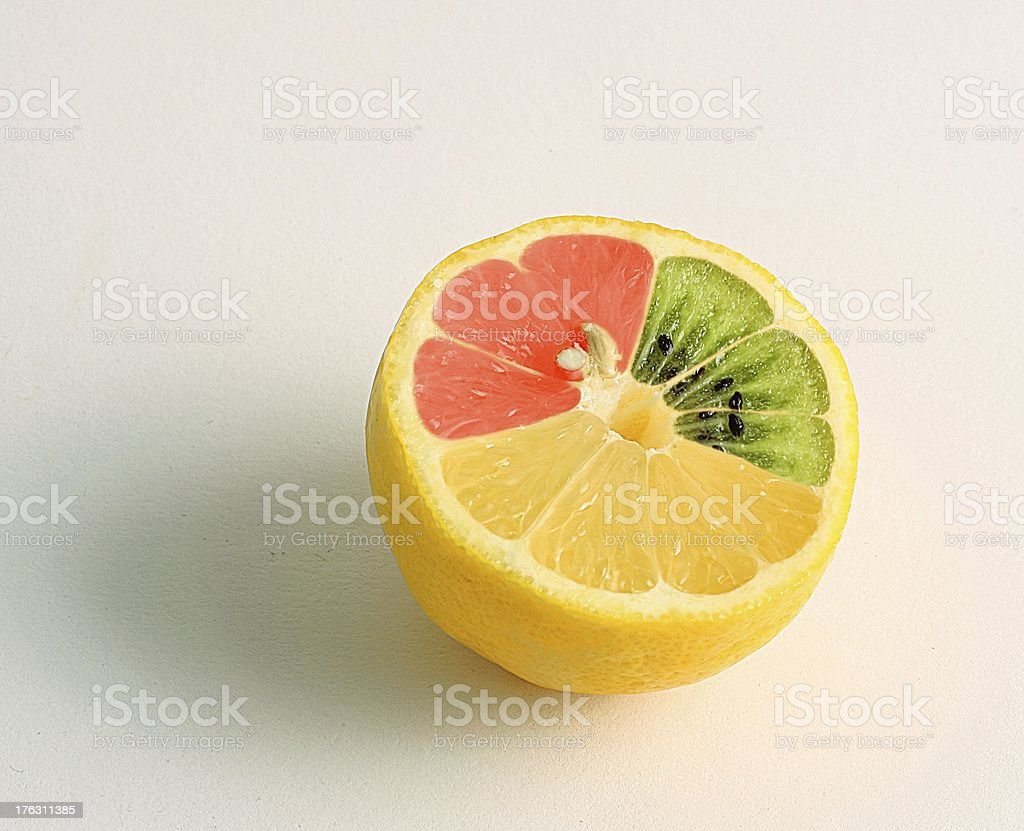 mutated lemon stock photo