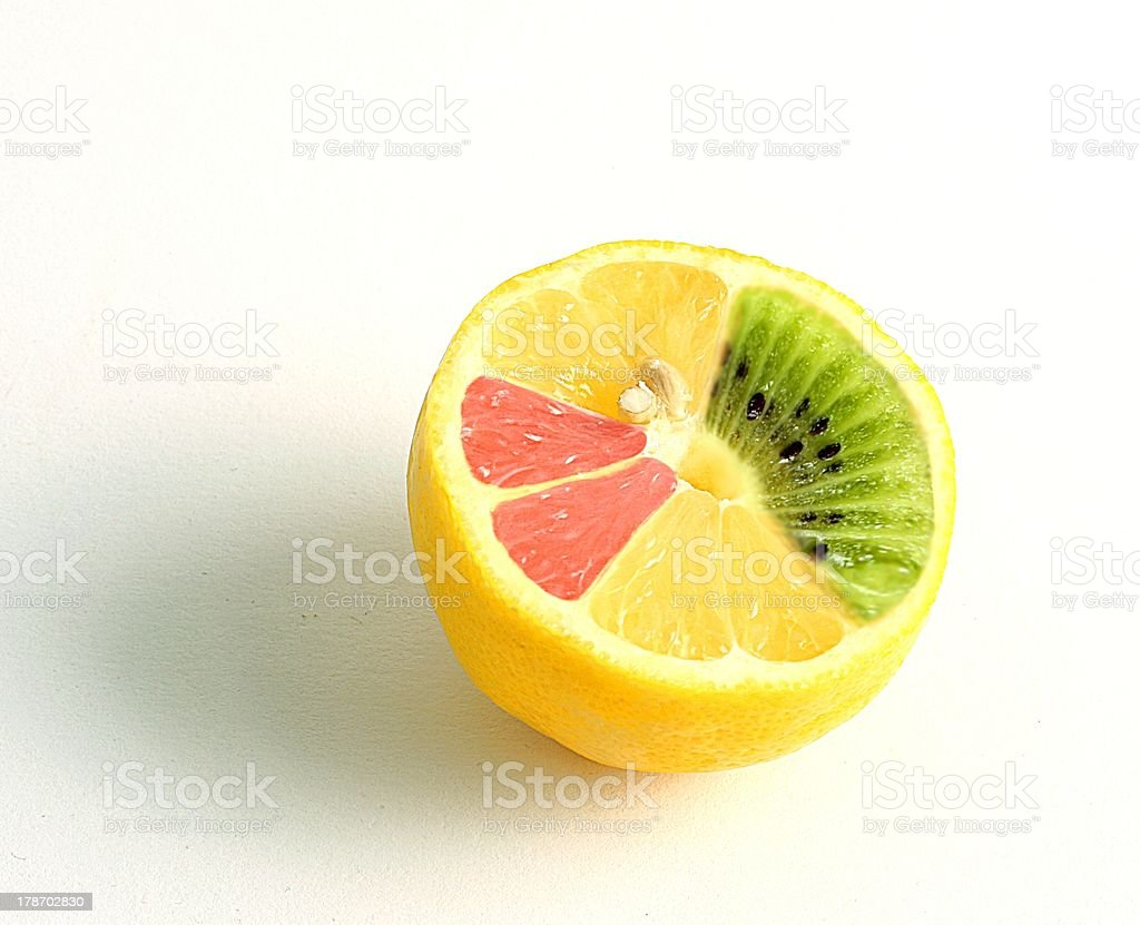 mutated lemon stock photo