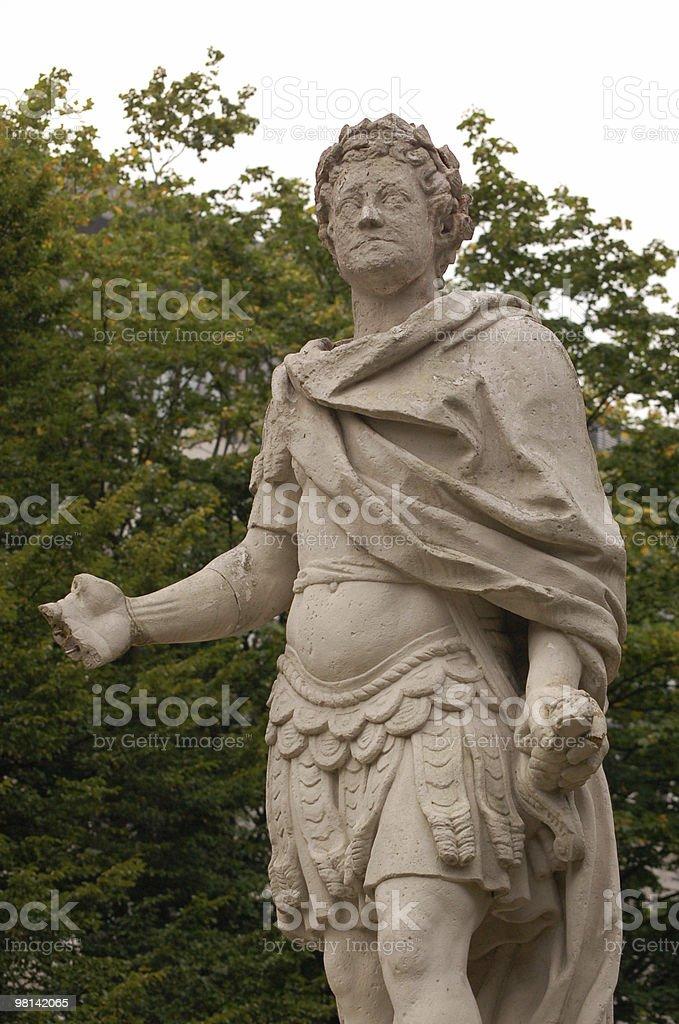 Mutilated Statue stock photo