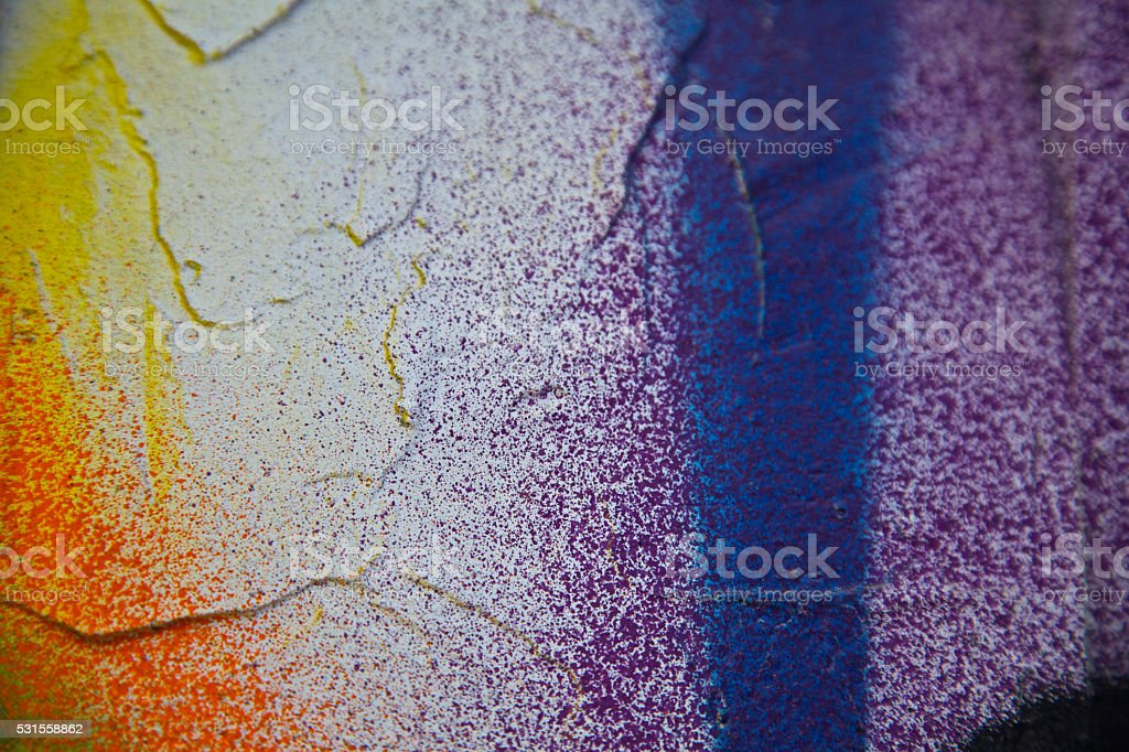 mutli color graffiti abstract background pattern city concrete wall stock photo